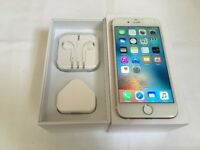 Apple iphone 6 16gb on vodafone and lebara network ***average condition in box***100% original phone