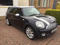 Mini Cooper Clubman 1.6 petrol in Black and Silver