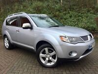MITSUBISHI OUTLANDER 2.0 DiD WARRIOR**7 SEATER**4x4**SERVICE HISTORY**12 Months MOT**2 Keys