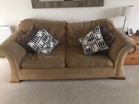 FREE 2 & 3 seater sofa and foot stool