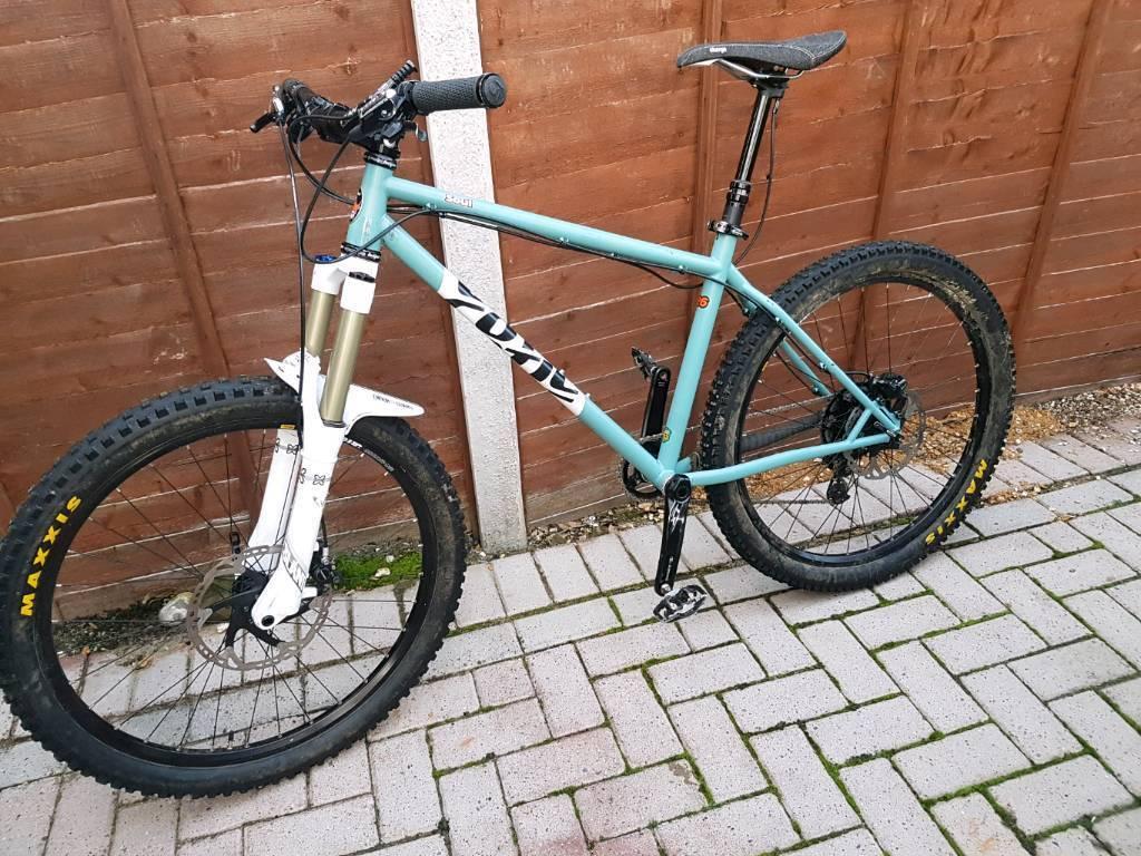 Cotic soul mk3 steel frame x fusion slant shimano XT zee mountain bike 17.5 inch medium