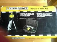 Toolcraft Rotary Laser Kit