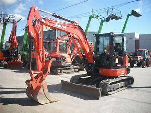 2014 kubota KX057 4G Excavatrice