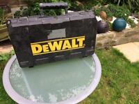 Dewalt drill, with case and instructions