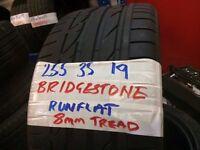 """19"""" BRIDGESTONE TYRES 225x40x19 235x40x19 245x45x19 255x35x19 255x40x19(LOADS MORE AV 7-DAYS)"""