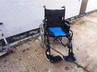 self propel wheelchair lightweight boxed.