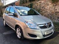 2009 Vauxhall Zafira 1.6 7 Seater Low Miles. Reliable Practical MPV CHEAP!!