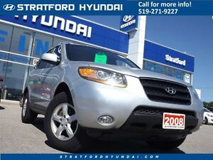 2008 Hyundai Santa Fe GLS 3.3L | LEATHER | SUNROOF | HEATED SEAT Stratford Kitchener Area image 1