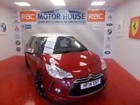 Citroen DS3 THP DSPORT PLUS(FULL LEATHER) FREE MOT'S AS LONG AS YOU OWN THE CAR!!! (red) 2014