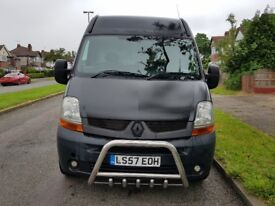 2007 57 RENAULT MASTER MM35 DCI 100 6 SPEED MWB 12 MTS MOT AIR CON VAUXHALL MOVANO TRANSIT DUCATO