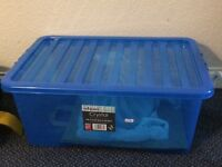 URGENT Storage box and its cover, made in Britain