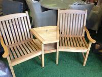 Oak conversation seat - varnish is peeling on seat