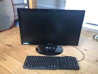 24inch computer monitor, brand new, never used. Keyboard also never used. £130 for a quick sale