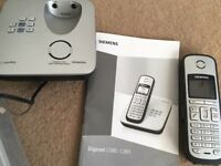 Siemens home telephone set