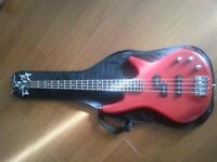 Ibanez red starter bass