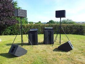 Martin Audio CX PA system