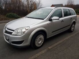 vauxhall astra estate 2009 plate 1.7 eco-flex 1 owner car fsh