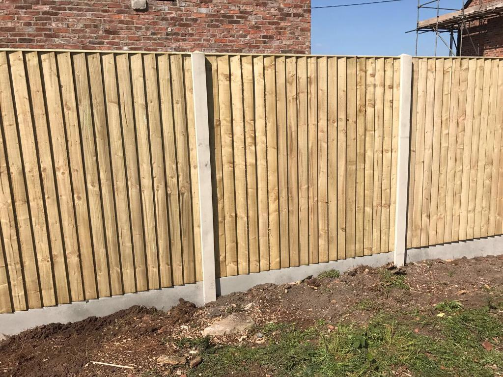 🌺New Flat Top Feather Edge Fence Panels • Excellent Quality • Wooden