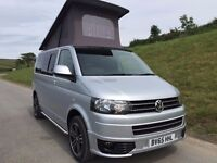 VW Transporter T5 Highline Camper 2015 (65) reg 4 Berth Campervan