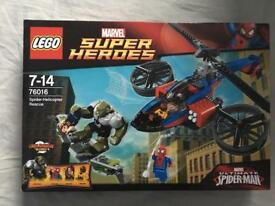 Lego Super Heroes Spider-Helicopter BNIB Rescue Brand New In Box