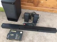 SONY 5.1ch Home Cinema System with Bluetooth Technology 600w Soundbar and Subwoofer