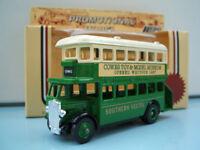 Lledo Model LP D/D AEC Regent Bus Southern Vectis Cowes Toy & Model Museum Isle of Wight