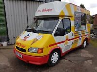 transit soft ice cream van 2000W