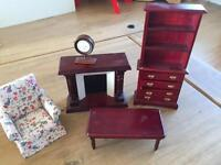 Dolls house furniture great condition
