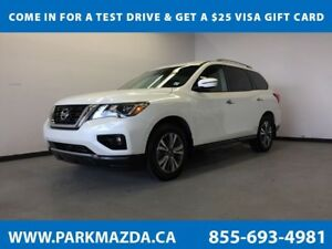 2018 Nissan Pathfinder SV 4WD - Bluetooth, NAV, Remote Start, 3r