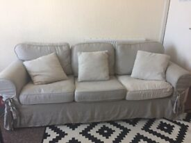 3/4 seaters Linen Sofa