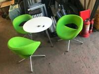Lime Green Boss Design Swivel Chair