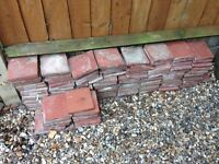 "'Victorian' red 6"" quarry tiles"