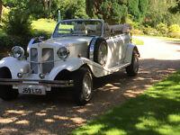 Beauford wedding car hire, classic wedding wedding car hire, classic car hire