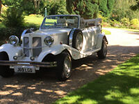 Beauford wedding car, beauford bridal chauffeur hire, wedding car hire