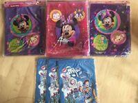 Minnie Mouse toy story PVC swim gym shoe PE toy bag job lot IDEAL resale eBay, market, Carboot etc