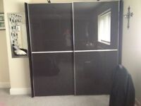 Full bedroom suite including wardrobes and bedside cabinets also storage cabinet.