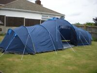 Pro Action 6 person funnel tundra tent