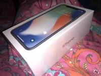 New & sealed iPhone X