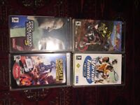PSP Games in great condition