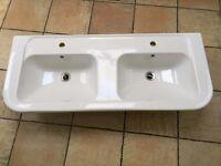 Double bathroom basin - £40 ono