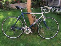 Vintage Raleigh racing bike