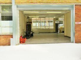 1,260 sq ft Industrial Unit / Workshop / Office / Studio / Storage Unit
