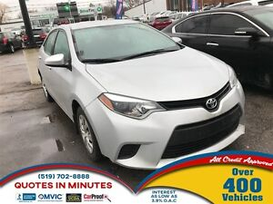 2014 Toyota Corolla CE | AUTO LOANS APPROVED