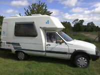 Romahome Citroen C15 Hightop, 1769cc Diesel, MOT July 2017