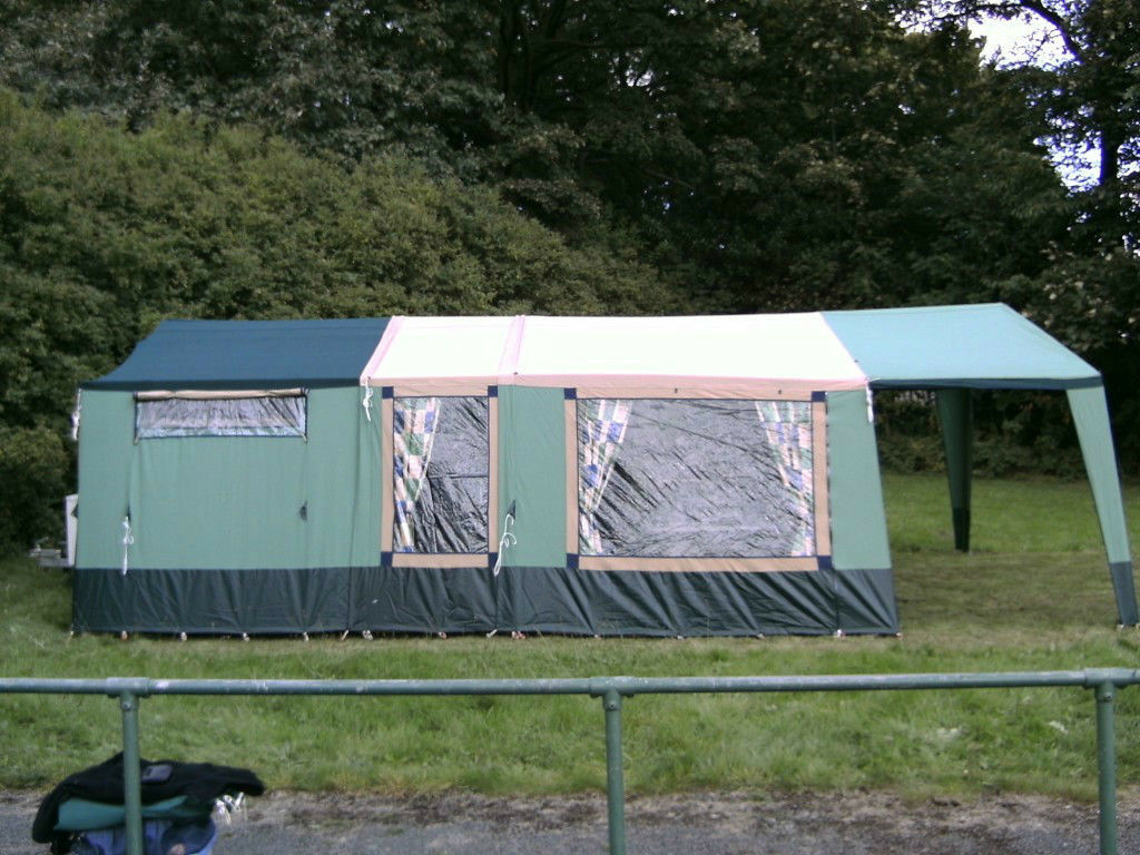 2004 Cabanon Mistral 8 Berth Trailer Tent Ring For More Info 01274 500449 Vgc In Queensbury