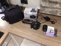 Canon 600D Dslr Camera 18MP + 18-55mm Lens kit Bundle