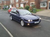 04 REG JAGUAR X-TYPE 2.0D SPORT ESTATE BLUE 5DR 2-KEYS MOT-17 CHEAP FREE-DELIVERY @BARGAIN CARS L@@K