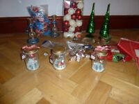 JOBLOT OF CHRISTMAS DECORATIONS