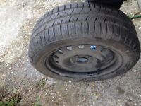 195/55/15 Spare Wheel and Tyre