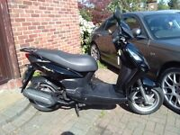 2015 SYM Symply 125 scooter, runs very well, good condition, low miles, cheap insurance, bargain,,,,